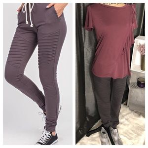 🎉BLOWOUT SALE💥🔥Moto Slim Fit Draw String Jogger